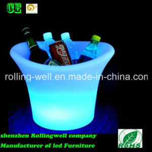 LED Color Changing Rechargeable Ice Bucket with Remote Control