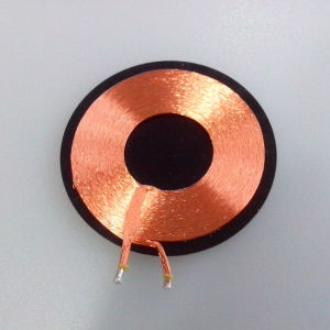 Copper Induction Coil Inductive Charger Coil Self-Bonding Coil pictures & photos