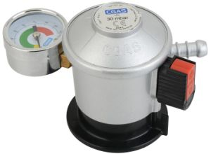 LPG Jumbo Low Pressure Gas Regulator with Meter (C21G56D30) pictures & photos