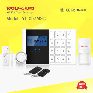2015 Hot 99 Wireless & 6 Wired Zones GSM Home Alarm (YL-007M2C-1) pictures & photos
