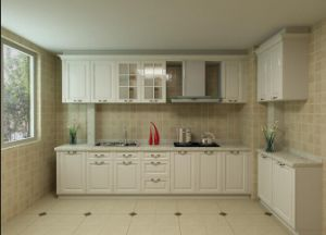 American Modular Wood Shaker Kitchen Cabinet (ZHUV) pictures & photos