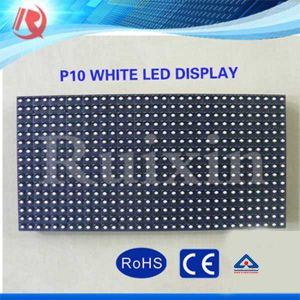 High Brightness White P10 Outdoor LED Display pictures & photos
