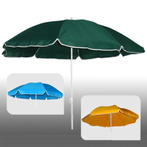 Polyester Fabric Parasol for Beach or Restaurant pictures & photos