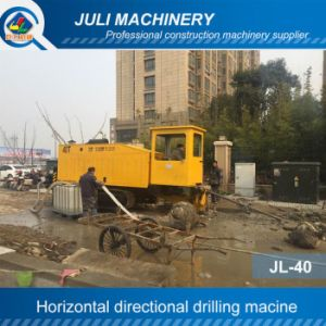Jl-40 Horizontal Directional Drilling Machine. HDD Rig. Trenchless Drilling Machine