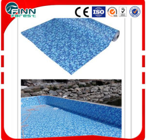 Can Be Customized Mosaic PVC Pool Liner for Swimming Pool (1.2mm 1.5mm 2.00mm thickness) pictures & photos