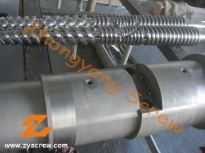 Cm55 Cm80 Bimetallic Double Conical Screw and Barrel pictures & photos