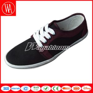 Casual Lace-up Canvas Comfort Shoes for Men pictures & photos
