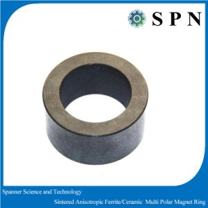 Hard Ceramic Ferrite Magnet Rings with High Performance 1900GS pictures & photos