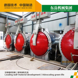 Light Weight Autoclaved Aerated Concrete AAC Block Production Line pictures & photos