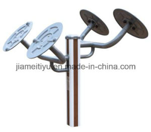 Professional Lanscape Outdoor Fitness Equipment Taiji Wheel pictures & photos