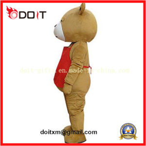 Red Apron Teddy Bear Animal Mascot Costumes for Promotional pictures & photos