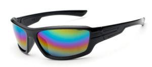 Designer Promotion Plastic Men Sport Plastic Sunglasses with Ce Approved (1505)