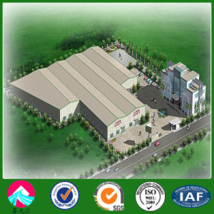 Prefabricated Steel Structure Workshop for Slaughter House pictures & photos
