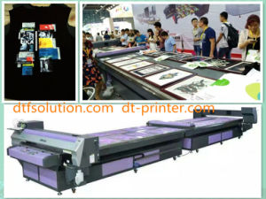 Direct Printing Flatbed Printer for Cotton Pieces pictures & photos