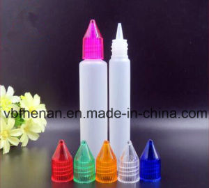 Popular 10ml 15ml 30ml Unicorn Bottles (pen shape) with Colorful Caps and Slender Tip in China
