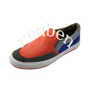 Hot Design Men′s Canvas Shoes pictures & photos