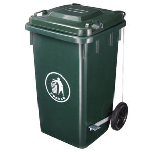 Trustworthy Plastic Dustbin / Trash Can pictures & photos