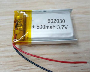 902030 500mAh Li-ion Polymer Rechargeable Battery pictures & photos