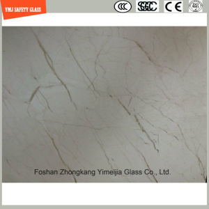 3-19mm UV-Resistant Silkscreen Print/Acid Etch/Frosted/Pattern Flat/Bent Tempered/Toughened Glass for Outdoor Furniture & Decoration with SGCC/Ce pictures & photos