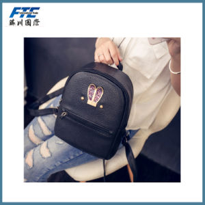 High Quality Colorful Backpack with PU Leather pictures & photos