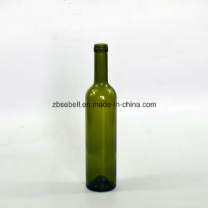 500ml Bordeaux Glass Bottle for Red Wine pictures & photos