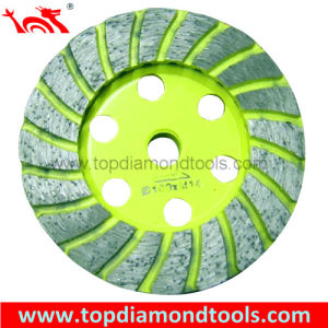 Double Turbo Cup Wheel for Grinding Stone pictures & photos