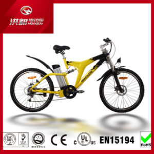 250W Lithium Battery MTB Electric Mountain Bike 36V10ah Disk Brake Ebike pictures & photos
