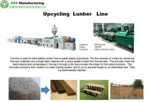 ABS PP PE Plastic Recycling/ Upcycling/ Line/ Machine