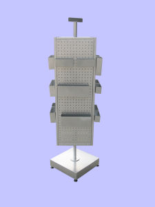 Pegboard Rotating Display Stand (HYX-030)