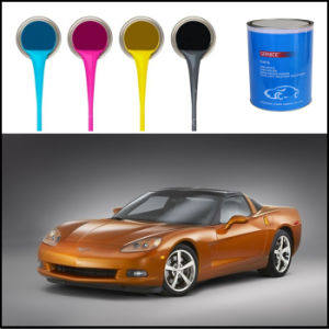 Spray Application Method Heat Sensitive Acrylic Liquid Car Coating pictures & photos