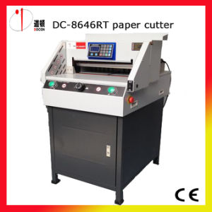 China Top Quality Paper Guillotine pictures & photos