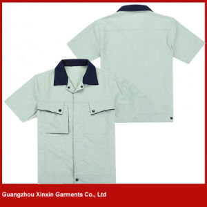 Cheap Cotton Polyester Tc Working Wear Garments Shirts Supplier in Guangzhou Factory (W158) pictures & photos