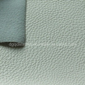 Imitation Real Leather Pattern Semi-PU Furniture Leather (QDL-1211A) pictures & photos