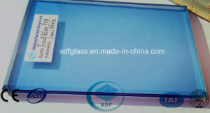 Ford Blue PVB Laminated Glass with CE, ISO pictures & photos