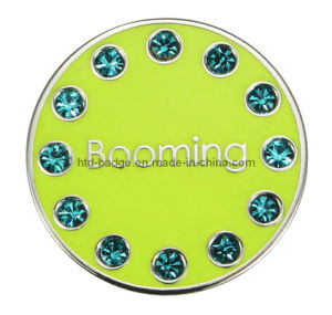 Stock Crystal PRO Enamel Golf Ball Marker (GBM081)