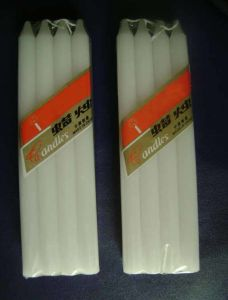 White Household Stick Candle From China Supplier