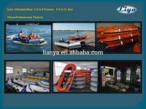 Liya 3.8m-6.5m Inflatable Rescue Boat for Sale Funny Inflatable Boat pictures & photos