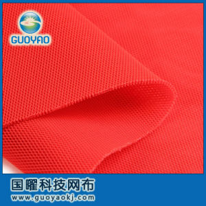 Polyester, Dyed Yarn, Warp Knitted Air Spacer Mesh Fabric