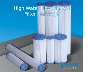 Pes Pleated Filter Cartridge with PP Core pictures & photos
