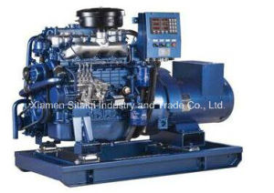 Weichai Power Marine Diesel Generator Set for Boat Ship pictures & photos