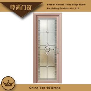 Lattice Bar Decoration Glass Panel Aluminium Door for House Interior Decoration pictures & photos