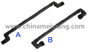 1/2′′, 3/4′′ Bsp PE Swing Joints (MX9208) pictures & photos