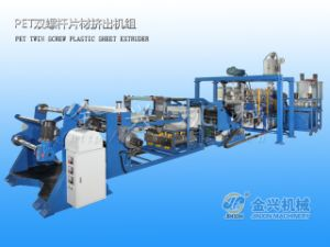 Pet Twin Screw Sheet Extruder pictures & photos