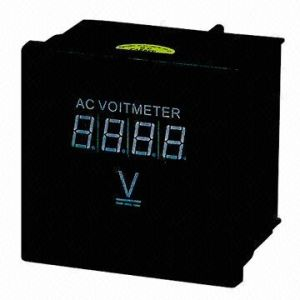 LED Display AC Digital Voltmeter pictures & photos