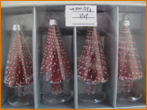 Multicolor Hanging Christmas Glass Tree Ornaments pictures & photos