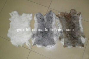 Factory Direct Supply 100% Real Rabbit Fur Skin for Garment pictures & photos