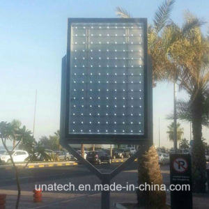 Aluminium Frame Tempered Glass Panel Billboard Outdoor Pedtrol Station Advertising LED Scrolling Lightbox pictures & photos