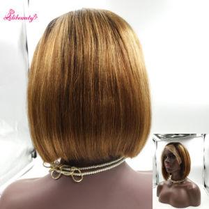 Lili Virgin Brazilian Human Hair Bob Hair Full Lace Wig pictures & photos