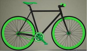 700c Alloy 40mm Rim Fixed Gear Bike Bicycle pictures & photos