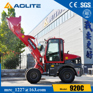 Ce Approved Mini Wheel Loader 920 with Sweeper pictures & photos